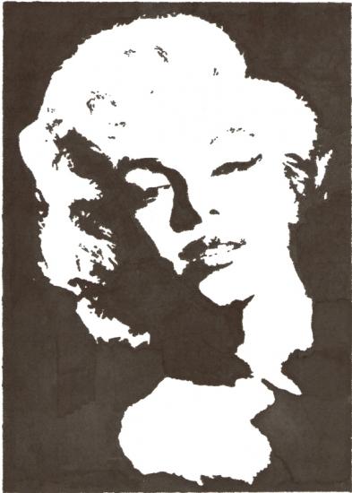 Marilyn Monroe por vidaddict